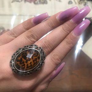 leopard print women's Ring